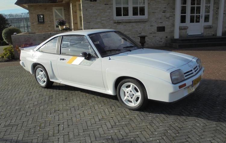 Koop deze Opel Manta 400 op en vind het rallyvuur