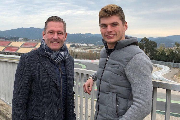 Jos Verstappen: Max doet in 2019 meteen mee voor winst