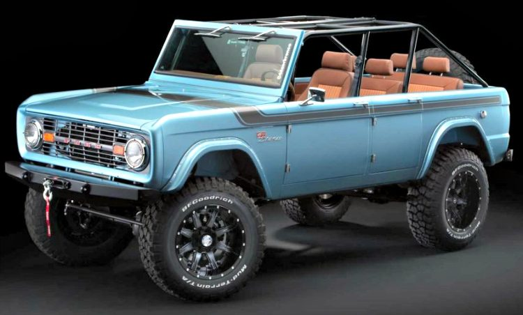 Maxlider Customs Brothers Ford Bronco '18