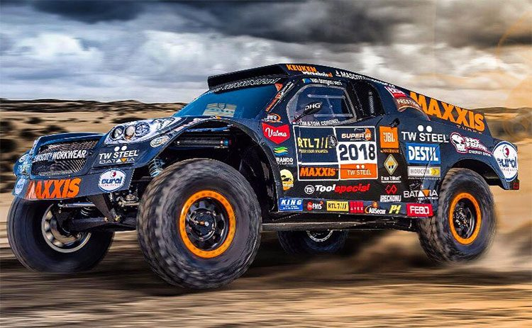 Dakar 2018 team Coronel