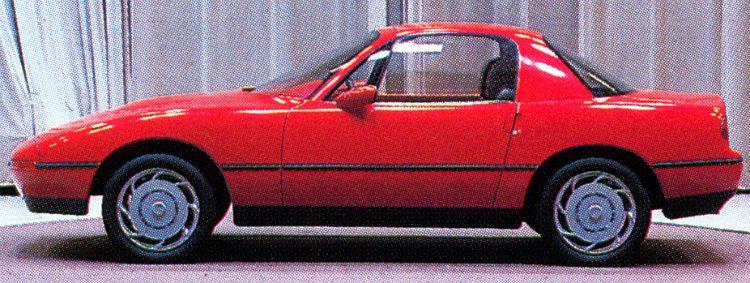 Mazda FWD prototype