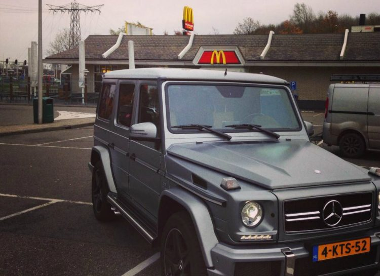 Mercedes-Benz G63 AMG McDonald's