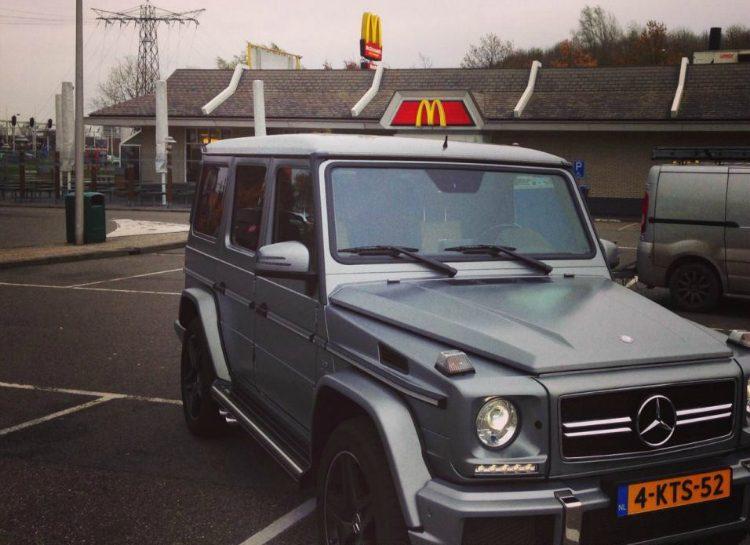 Mercedes-Benz G63 AMG McDonald