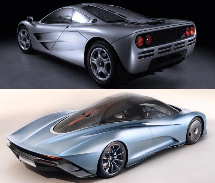 Vergelijking: McLaren F1 vs. Speedtail