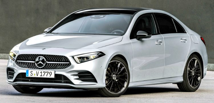 Mercedes-Benz A200 Sedan Business Solution AMG (W177) '18