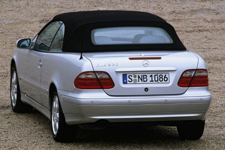 Mercedes-Benz CLK 320 Cabriolet (C208)