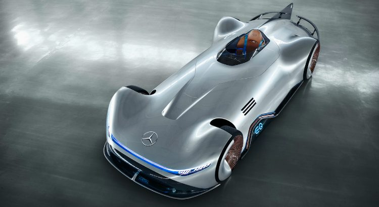 Mercedes EQ Silver Arrow Concept '18