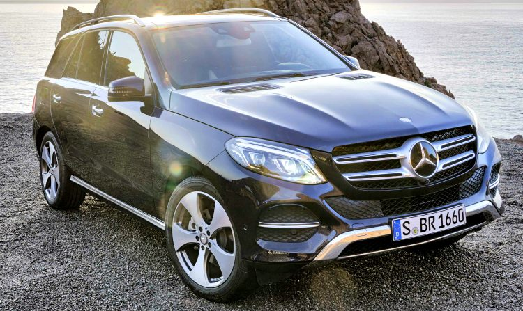 Mercedes-Benz GLE 250d '18
