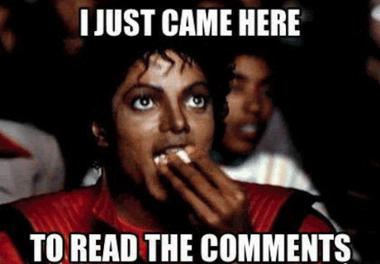 Popcorn & comments!