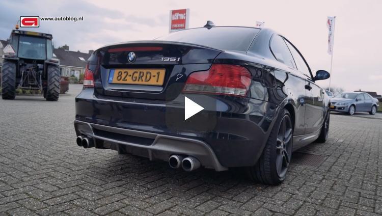 Mijn auto: BMW 135i van Bas