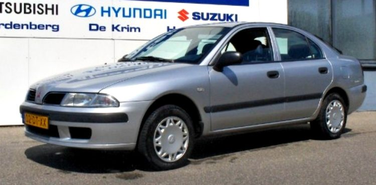 Mitsubishi Carisma 1.9 TD Liftback