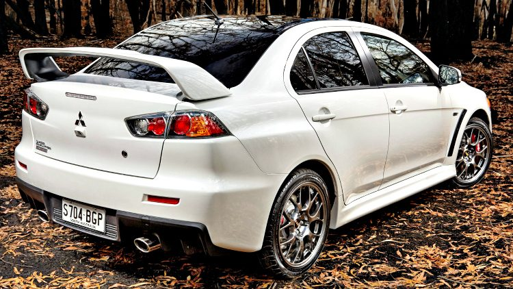 Mitsubishi Lancer Evolution X Final Edition (GFZ) '15