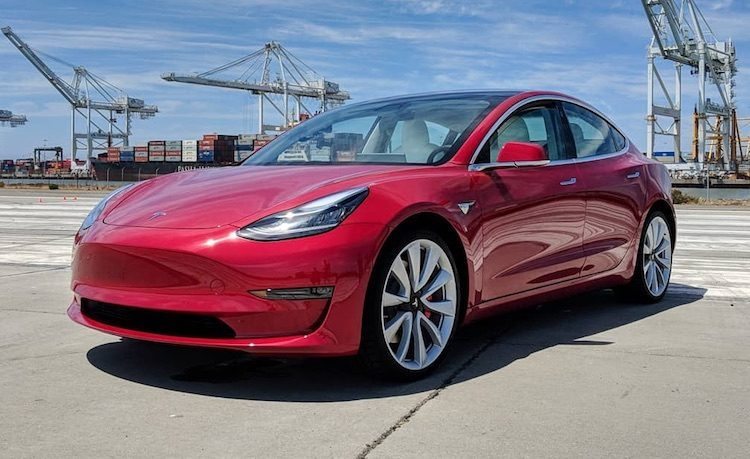 Tesla Model 3 Performance komt met Track Mode