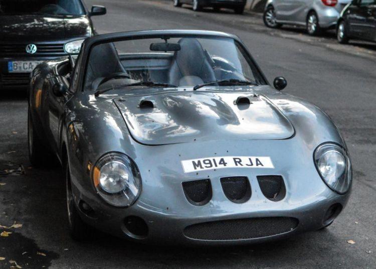 Ferrari 250 GTO maar dan als Miata