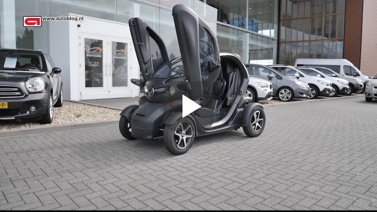 Mijn auto: Renault Twizy van Rene
