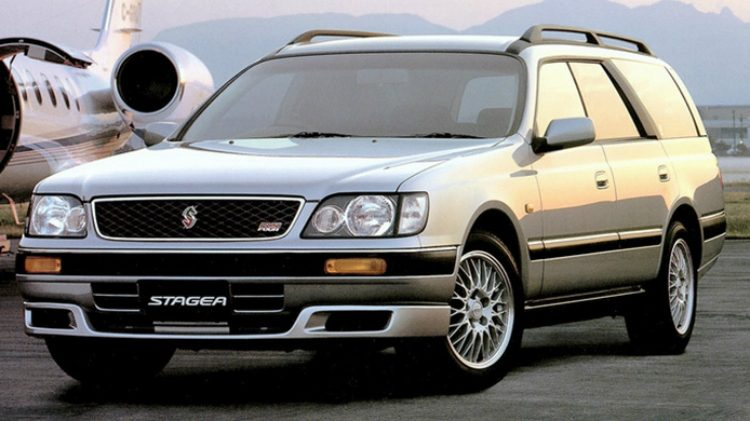 Nissan Stagea RS Aero Selection (WC34)