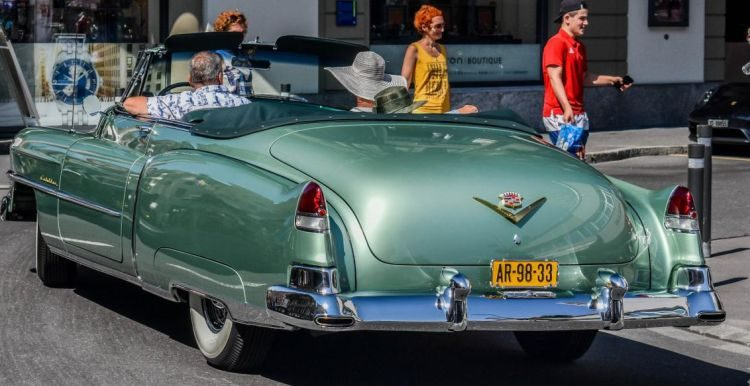 Cadillac in Zwitserland