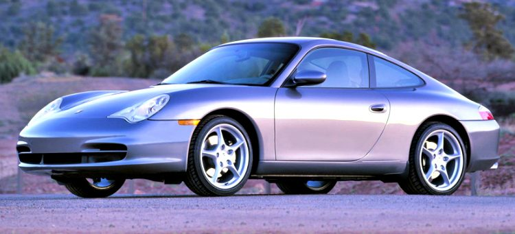 Porsche 911 Carrera Coupé (996.2) '01