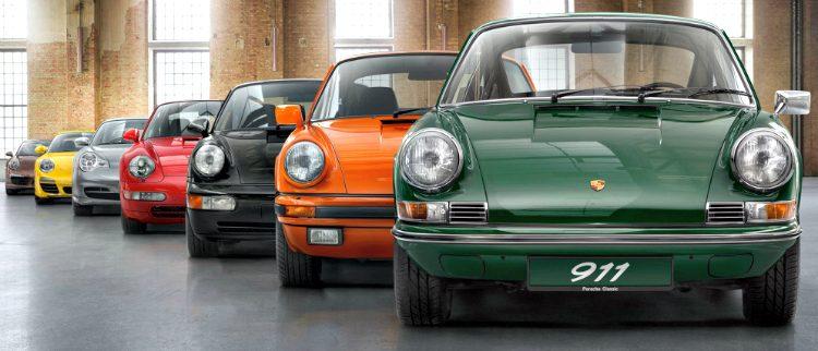 Porsche 911 model range
