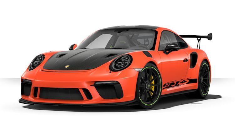 Gooi de Porsche 911 GT3 RS door de configurator