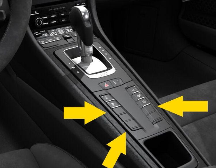 Porsche GTS interieur