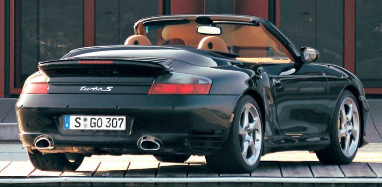 Porsche 911 Turbo S Cabriolet (996) '05