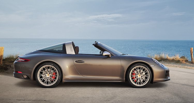 Dit is de peperdure Targa 4 GTS van Porsche Exclusive