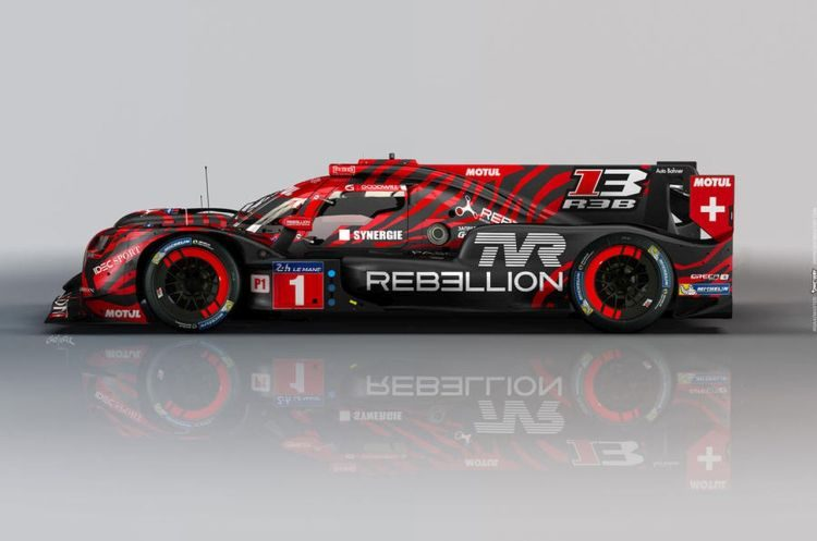 TVR Rebellion LMP1