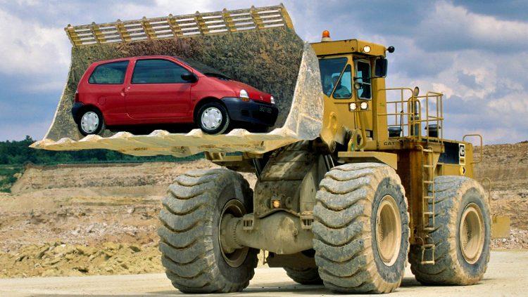 Renault twingo - Caterpillar '93
