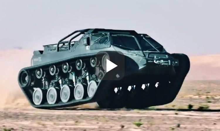 Video: Richard Hammond probeert deze comfortabele tank