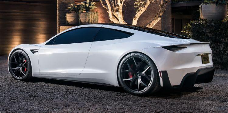 Roadster achterkant