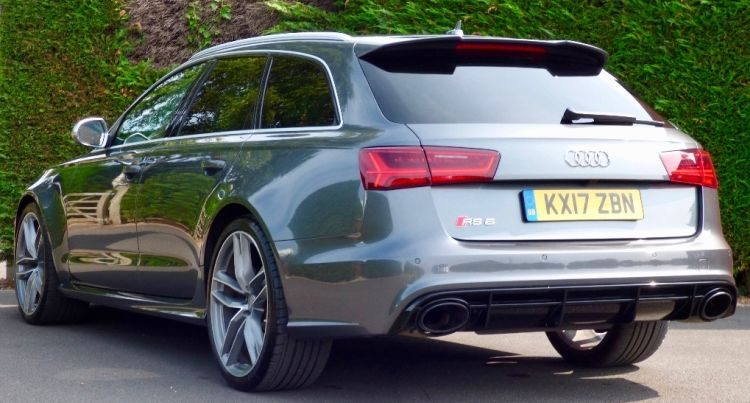 RS6 van Prins Harry