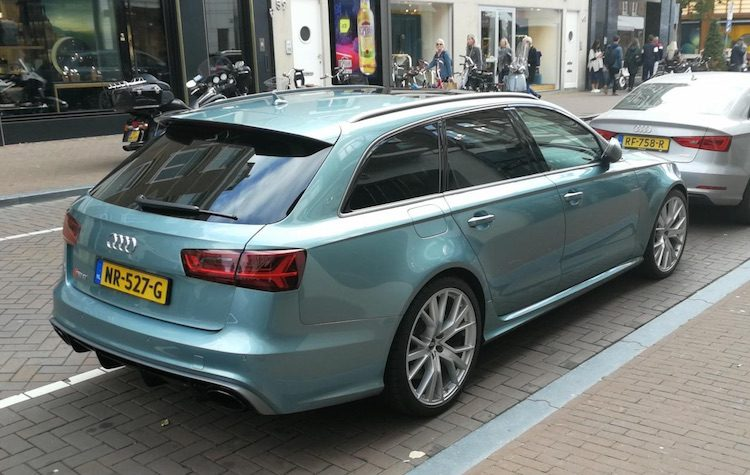 Gespot: RS 6 Avant Performance is mintgroen