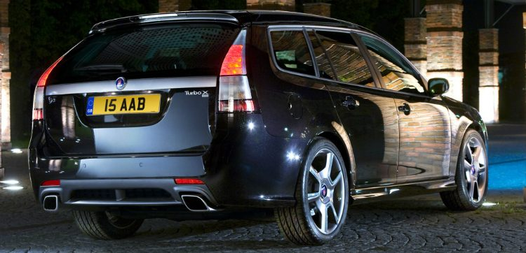 Saab 9-3 Turbo X SportEstate '08