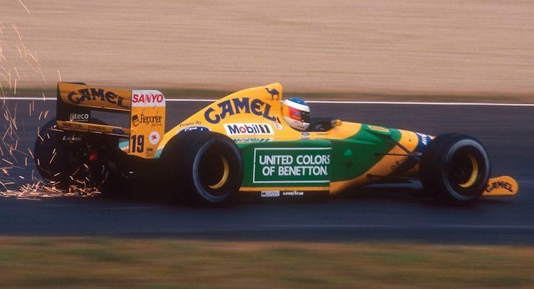Koop de Formule 1-auto waarmee Schumacher naam maakte