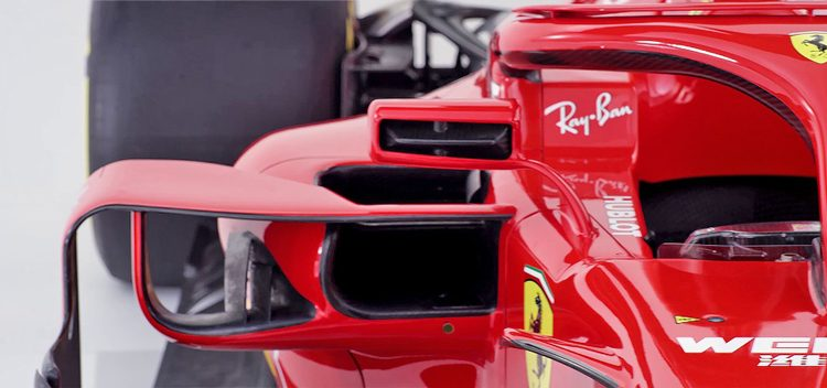 In detail: de Ferrari SF71H
