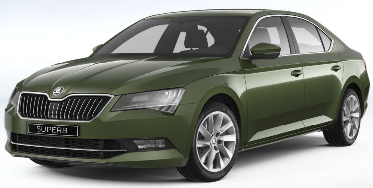 Skoda Superb 1.8 TSI Greenline Style Business DSG (B8, 3V) '18