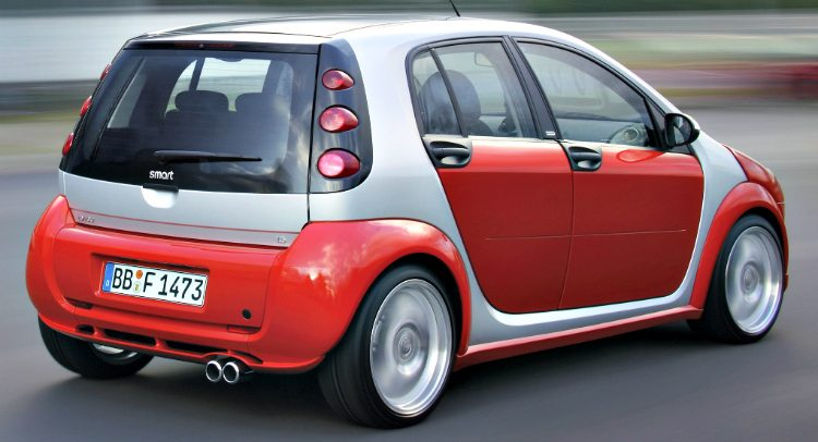 Smart Forfour Brabus Sportstyle '04