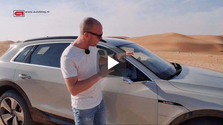 Deze Audi heeft geen spiegels, wél camera