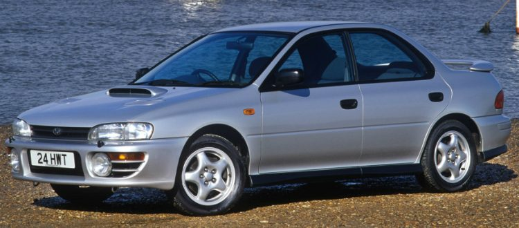 Subaru Impreza GT Turbo (GC) '97