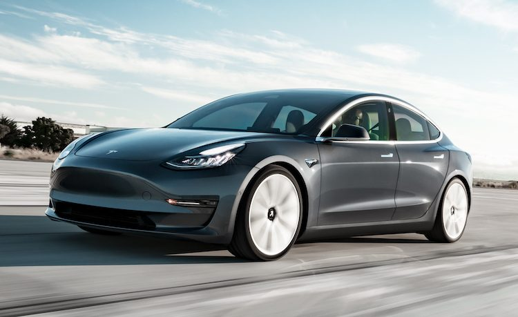 Grote problemen voor Tesla Model 3 in winters weer