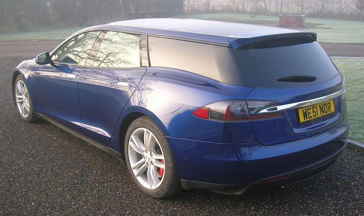 Meer beeld van de Tesla Shooting Brake!