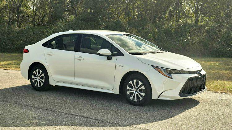 Toyota Corolla Sedan Hybrid '19