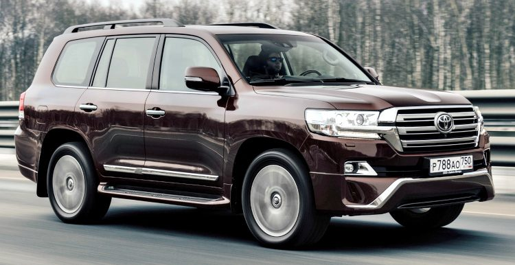 Toyota Land Cruiser 200 '17