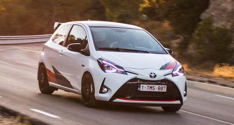 Toyota Yaris GRMN rijtest en video