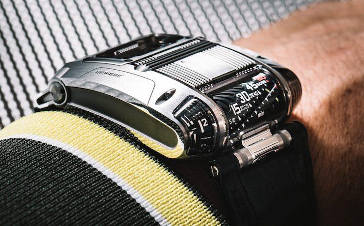 Horloge voor petrolheads
