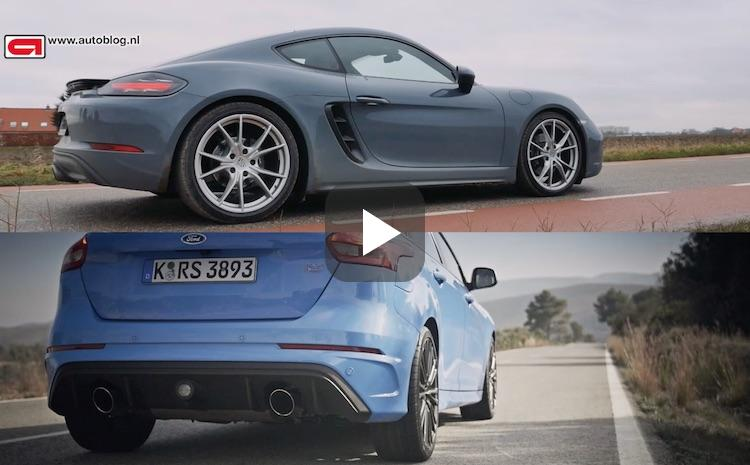 Porsche vs Ford: welke vierpitter is sneller?