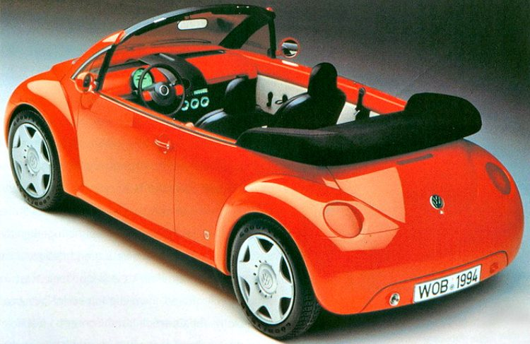 Volkswagen Concept One Cabriolet '94