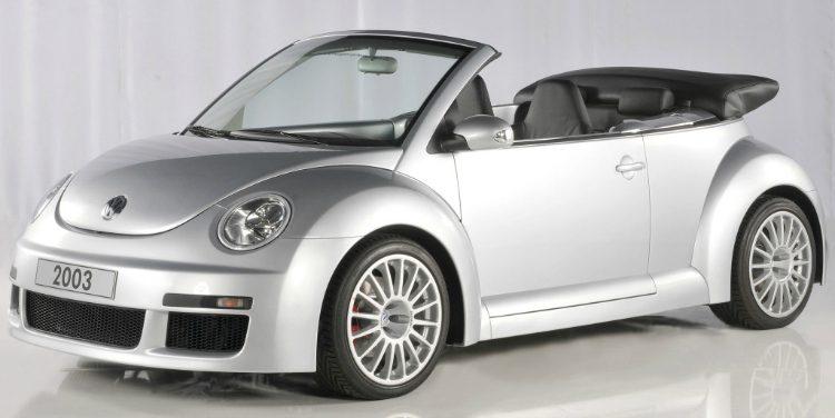 Volkswagen New Beetle RSI Cabriolet '03