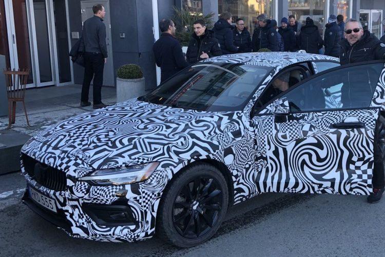 Volvo S60 camouflage